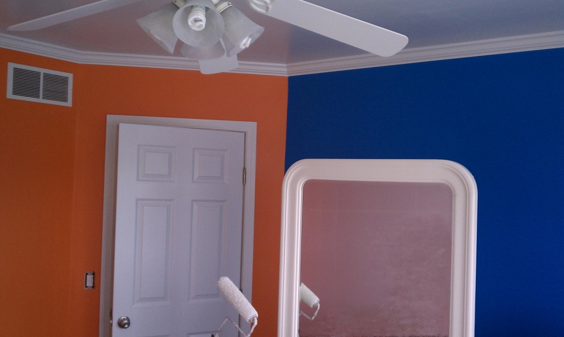 House Painter Custom Interior Painted